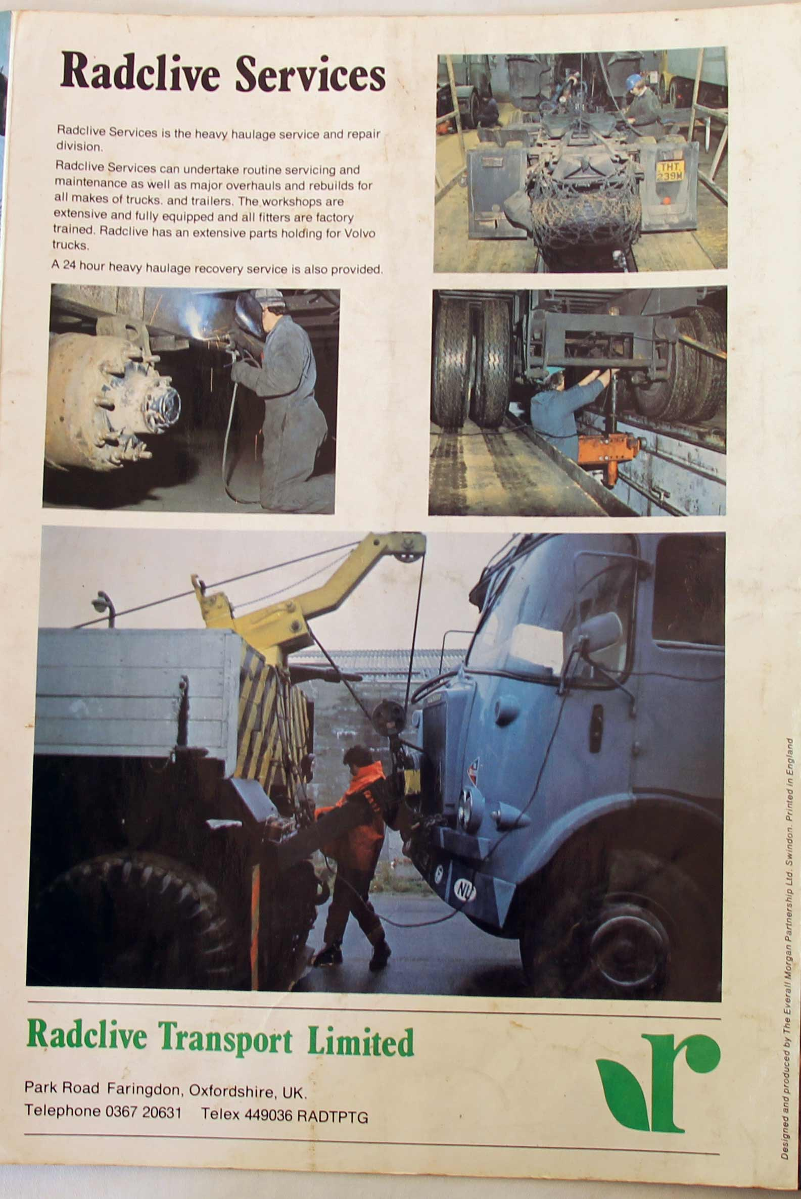1970s trucking in England, Europe and the Middle East - Malcolm Coates